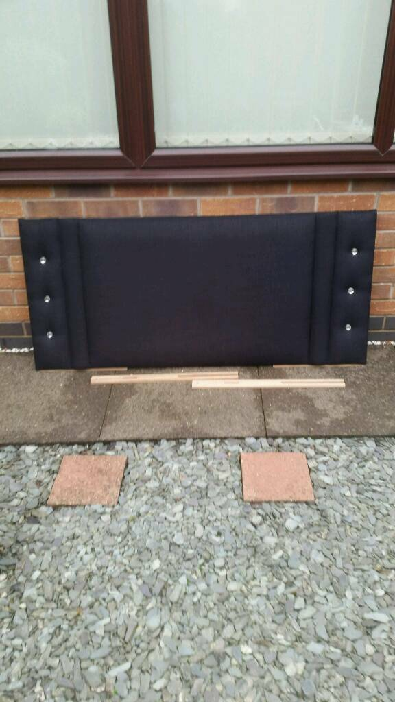 Double headboard (black)