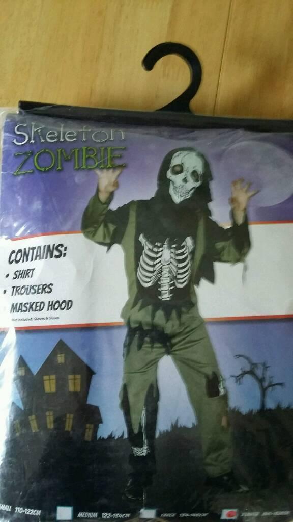 Halloween Costume - Zombie Skeleton