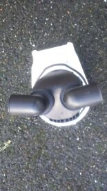 Deck flush mount hand pump or bilge pump for kayak or boat
