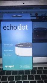Amazon echo white (brand new in box)