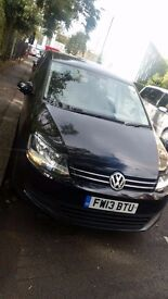 Volkswagen Sharan with full service, PCO licence. New starter motor,brake pads,3 new tyres and disc