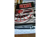 The World of Trains Magazines in 8 Binders