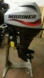 Mariner 20hp s/s 4stroke outboard as new