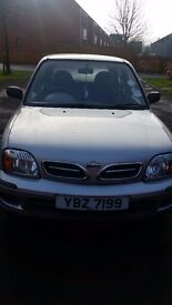 NISSAN MICRA 2000 AUTOMATIC