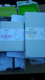 Bedspread n pillow cases and sheet brand new
