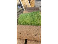 47 rolls of turf discoloured