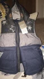 Next Gillet/body warmer new with tags 2 - 3 years