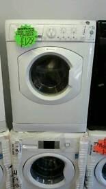 HOTPOINT 7KG 1200 SPIN WASHING MACHINE IN WHITE