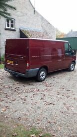 SWB Low Top Ford Transit Van