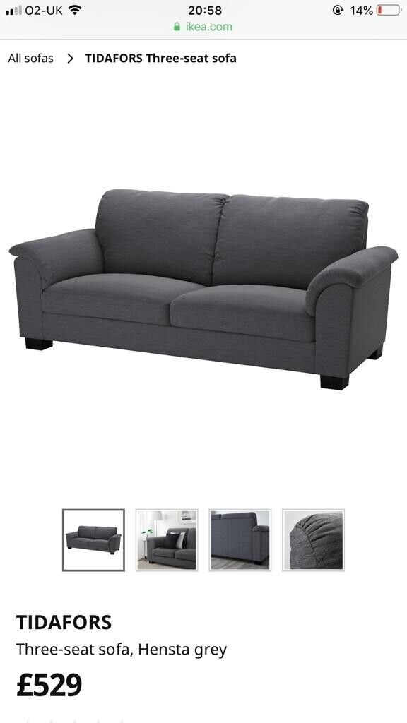 Tremendous Grey Ikea Sofa 2 X Armchairs And A Footstool In Rainham Kent Gumtree Pabps2019 Chair Design Images Pabps2019Com