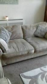"""Settee and """" love"""" chair"""