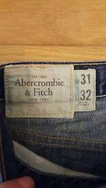 Men's Abercrombie & Fitch Jean's size 31/32
