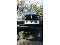 2002 BMW 3 SERIES 316TI SE (AUTOMATIC PETROL)- FOR PARTS ONLY