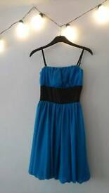 Blue Tom Wolfe dress small size 8
