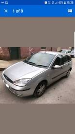 Ford focus 1.8 tdci silver breaking parts spares or repair