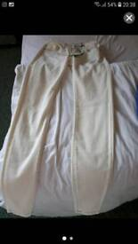 Cream m and s jeans size 10
