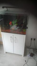new aqua one tank and cabinet