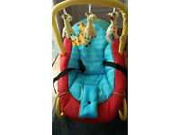 Baby Bouncer - Hardly Used- Comes with the Box - Can deliver if local