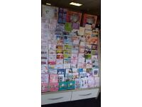 Greeting cards unit