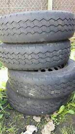 "Vito 15"" steel wheels"