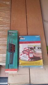 Kewtech voltage tester and ideal lock off kit