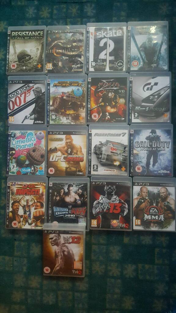 all ps3 games