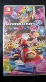 Nintendo switch, Mario kart 8 deluxe