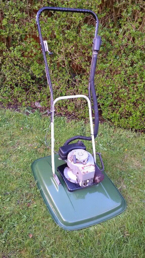 2 stroke petrol hover mower flymo style in salisbury. Black Bedroom Furniture Sets. Home Design Ideas