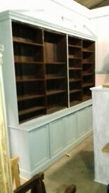 Reclaimed dresser - bookcase