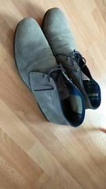 Lloyd Suede Boots grey size 9 /43