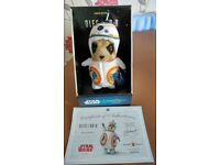 Oleg Meerkat as BB-8 limited edition Star Wars toy