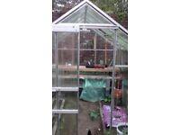 Glasshouse 8ft x 6ft