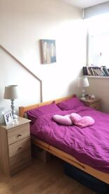 A spacious double bedroom to let