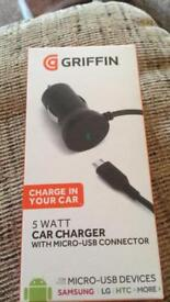 Griffin in car charger for LG, htc, Samsung and more