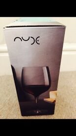 *Brand new in box* x2 Red Wine Terroir Wine Glasses by Nude Glassware