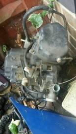 WK 125 RR engine watercooled 125cc