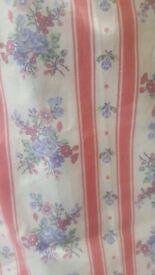 LAURA ASHLEY FABRIC ; 4.5 metres of unused cotton lawn dress fabric