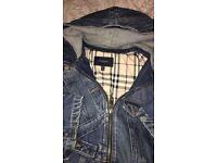 Womens VINTAGE Burberry jacket