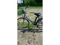 Large Classic Dunlop Bicycle from Belgium