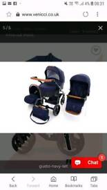 Venicci gusto navy 3in1travel system