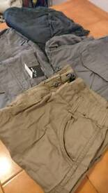 NEW UNWORN combat pants £6/pair