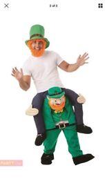 Leprechaun st Patrick day ride on costume