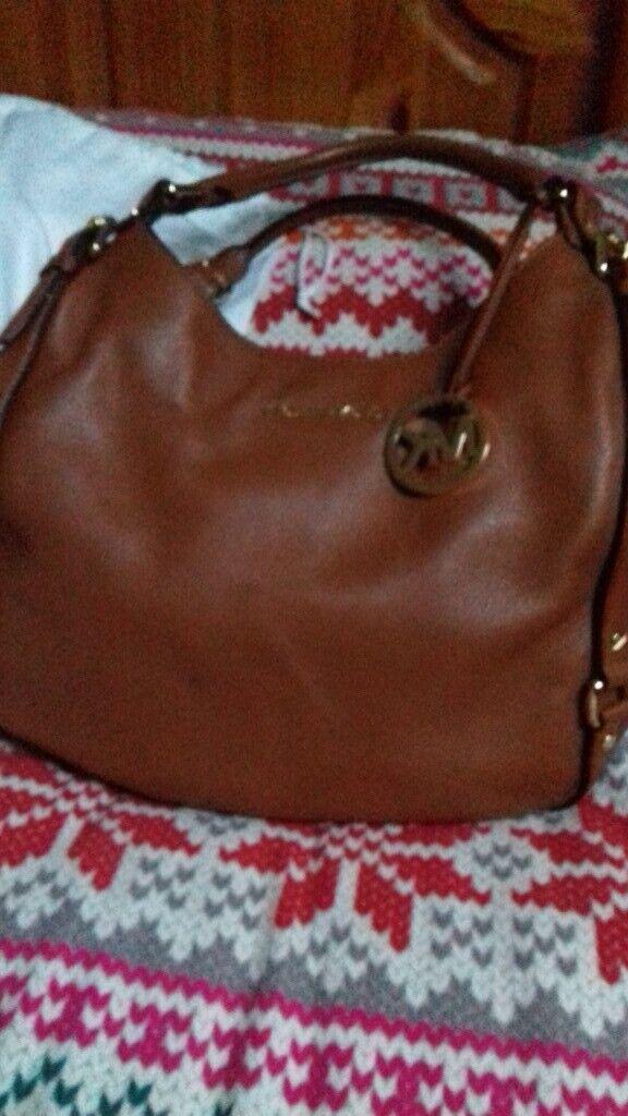 47489c8b5ba MICHAEL KORS TAN SOFT LEATHER BAG (sold,)   in Hillsborough, County Down    Gumtree