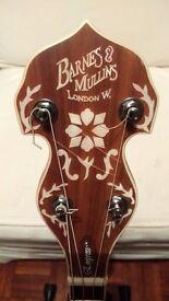Barnes & Mullins Empress Tenor Banjo - New/ Repaired