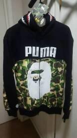 Mens Puma x Bape jacket
