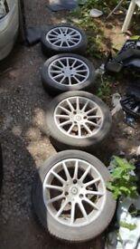 Alloy wheels size 175/55 R 15