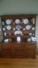 Antique Mahogany Kitchen Sideboard