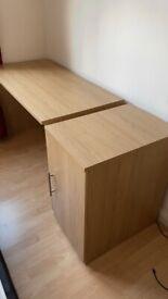 Office desk & Cabinet