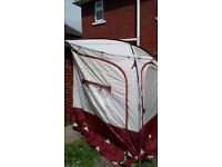 large caravan porch awning. porchlite xl only usec once.