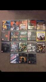 18 x PS3 games